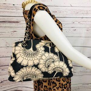 Kate Spade Large Floral Print Shoulder Tote Bag